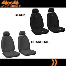 1 Row Custom Rm Williams Canvas Seat Cover For Peugeot 207 11-on