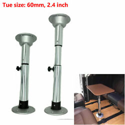 22-28 Aluminum Adjustable Table Pedestal With Removable Base For Marine Boat Rv