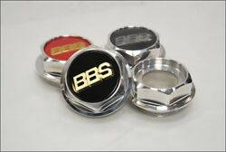 Bbs Rs 131 132 Hex Nuts Rc Center Caps 15 Inch Large Thread 2.76in