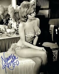 Nancy Kovack Hand Signed 8x10 Photo    Incredibly Sexy Cleavage+body