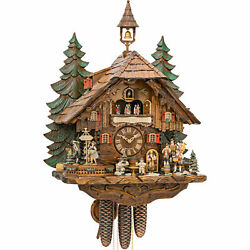 Clock Of The Year 2018 Cuckoo Clock 8-day-movement Chalet-style 24.8 By Hekas