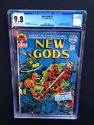 NEW GODS 7 !! CGC 9.8 !! 1ST STEPPENWOLF !! DC KEY CHARACTER !! 1 OF 5 !!