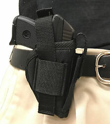 Side Gun Holster fits Kel-Tec P32 Nylon Built In Magazine Pouch Big Dog Holsters