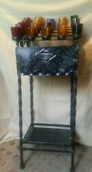 Vintage church salvaged 25 Votive Wrought Iron Candle Stand