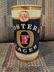 Vintage Fosters Lager 740m/ Quart Beer Can Australia Carlton United Brewery