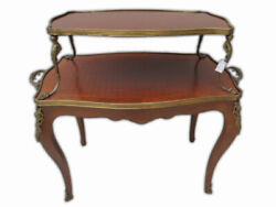 Antique French Louis Xv Buffet Table 8893
