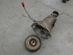 81 82 83 Mercedes-benz 380sl Automatic Transmission And Torque Converter Oem
