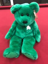 Large Ty Beanie Babies Erin. Rare Retired