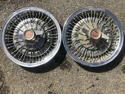 Pontiac Gto Tempest Lemans1964-1965-1966 Two Wire Wheelcovers