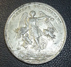 Italy Rome Ancient Pope Pius Ix Clemens. Et Constans Guardian Angel And Cherubs