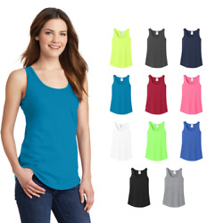 Port & Company Women's Tank Top Core Cotton Value Undershirt Blank Plain LPC54TT $7.73