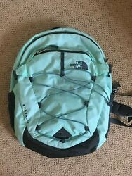 THE NORTH FACE Borealis School Backpack Women's LAPTOP Bag DAY PACK  MINTBLACK