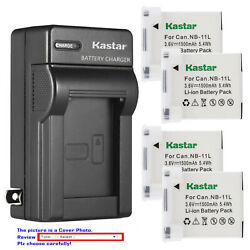 Kastar Battery Wall Charger for Canon NB 11L NB 11LH Canon ELPH 180 ELPH 190 IS