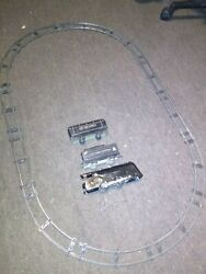 Vintage Louise Marx New York Central Metal Tin Toy Trains Wind Up 1940s