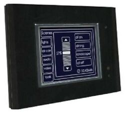 Clipsal C-bus Monochrome Touch Screen Cli5080ctl2-6 With Logic Engine Black