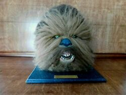 Star Wars Chewbacca Head Bust Limited Numbered Edition Illusive Originals