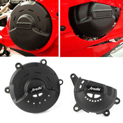 Engine Clutch Cover & Alternator Cover Protector For Ducati V4 Panigale 2018