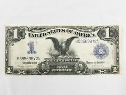 1899 One Dollar Eagle Blue Seal Large Silver Certificate