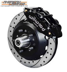 Wilwood 65-69 Ford Mustang, Falcon, Cougar 12.88 Front Disc Brakes 140-12637-d
