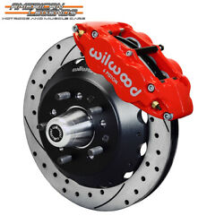 Wilwood 65-69 Ford Mustang Falcon Cougar 12.88 Front Disc Brakes 140-12637-dr