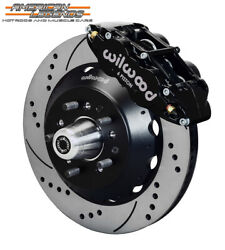 Wilwood 65-69 Ford Mustang Falcon Cougar 14.00 Front Disc Brakes 140-12638-d