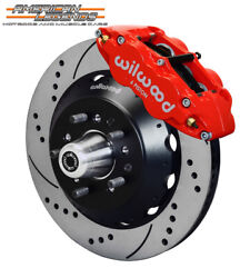 Wilwood 65-69 Ford Mustang, Falcon, Cougar 14.00 Front Disc Brakes 140-12638-dr