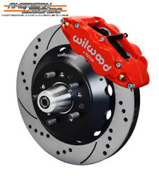 Wilwood 65-69 Ford Mustang Falcon Cougar 14.00 Front Disc Brakes 140-12638-dr