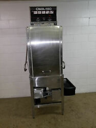 Cma 180 Htsb Pass Thru Dish Machine Washer Tested 220v With Booster