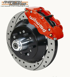 Wilwood 57-67 Twd Ford F100 Truck 12.88 Front Disc Brake Kit 140-14837-dr