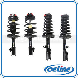 Front And Rear Struts Coil Springs For 95-96 Toyota Camry Coupe Sedan 2.2l