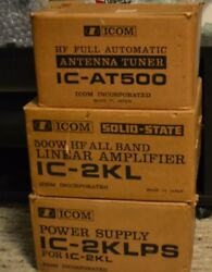 ICOM IC-2KL SOLID STATE LINEAR AMPLIFIER