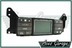 S/Zone Grey Electronic Climate Control Switch Pad VY VZ Commodore SS #6 Aces