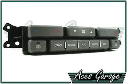 Grey Heater Climate Control Switch Control Pad WK WL Statesman Caprice #1 Aces
