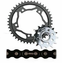 Bmw 2014-2018 S1000xr Vortex 525 Chain And Steel Sprocket Kit 17-45 Tooth Count