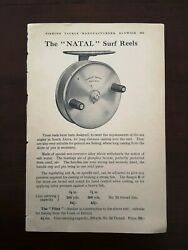 Antique Hardy Brothers Anglers Natal Surf Reels Fishing 1930s Advert Prints
