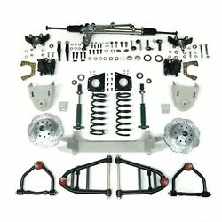 1964 - 1970 Ford Mustang Ii 2 Complete Front End Suspension Kit Ifs Hub To Hub 1