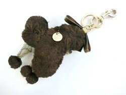 Auth Pre-Owned Gucci Poodle Motif Key Ring Holder Charm Y182 From Japan
