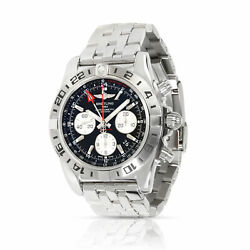 Unworn Breitling Chronomat 44 GMT AB0420B9BB56 Men's Watch in  Stainless Steel