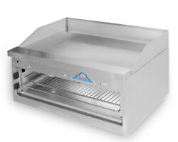 Comstock-castle Fhp36-36b 36 Countertop Gas Griddle On Overfire Broiler