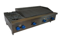 Comstock-castle Fhp48-3rb Countertop Gas Charbroiler / Hotplate