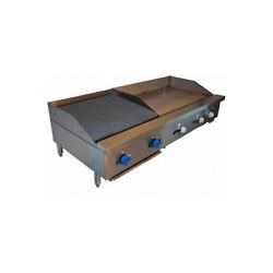 Comstock-castle Fhp60-24-3rb 60 Countertop Gas Griddle / Charbroiler