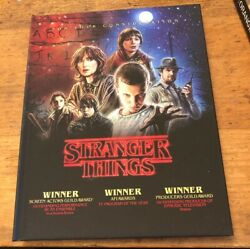 Stranger Things FYC DVD Complete Season 1 (4 DVD set) Bound Pressbook edition