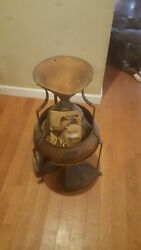 Vintage Seedburo seed separator with collectors