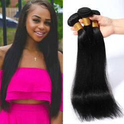 4bundles Soft Unprocessed Virgin Human Hair Extensions Sew In Weave 400g Weft Us