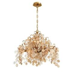 Chandeliers 11 Light Bulb Fixture W Gold Tone Finish G9 Type 22 inch 440 Watts