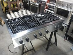 """Thermador Professional Series 48"""" Gas Cook Top With Griddle Model GPS486Gis"""