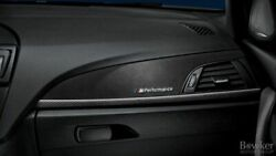 Genuine Bmw 3 4-series Front Interior Dashboard Trim Covers M-performance