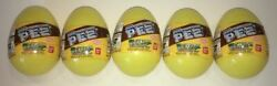 Pokemon 1 Mini Pez Set Of 5 From Japan - W/ Eggs And Bands And Candy - Everything