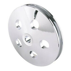Chrome Pulley For Type Ii Power Steering Pump V Belt Small Ps Wheel Hot Rod Rat