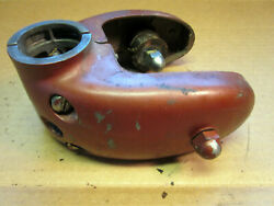 1950and039s Johnson Fd-10 15hp Outboard Motor Used Lower Unit Clamp Assembly